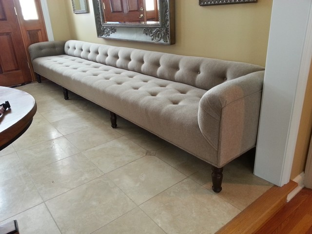 Custom 150 Low Back Bench Furniture Cleveland By Copley Upholstery Inc