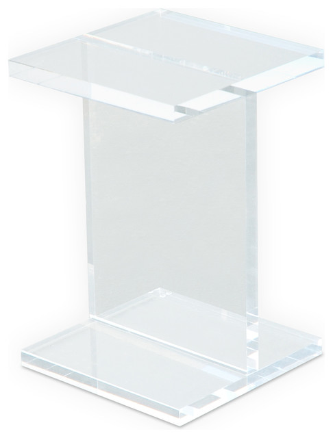 Modern Acrylic Side Table Modern Side Tables And End