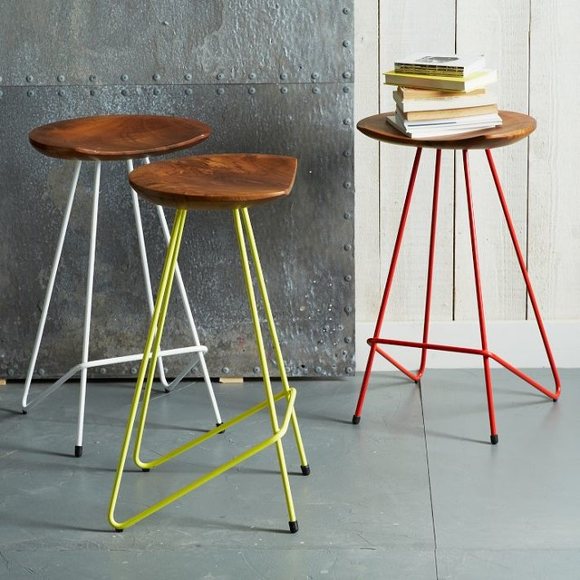 Perch Counter Stool Contemporary Bar Stools And
