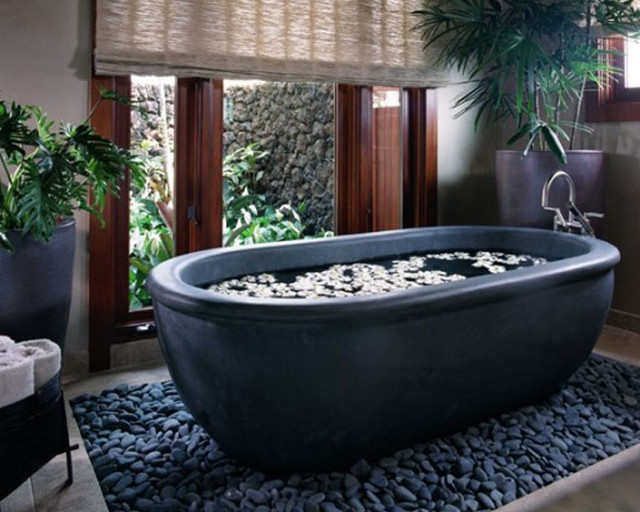 Natural Stone Bathtubs Bathtubs Other Metro By Yorda
