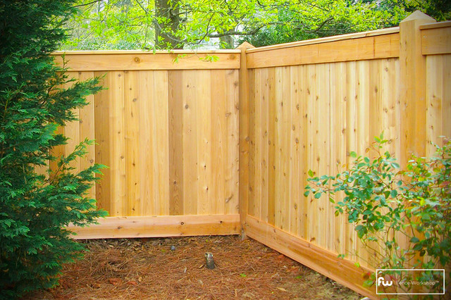 Garden Wood Fence : Wood Unique Privacy Garden Fence For Garden Decoration Design Ideas ...