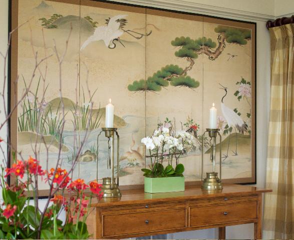 Art in Dining Room asian