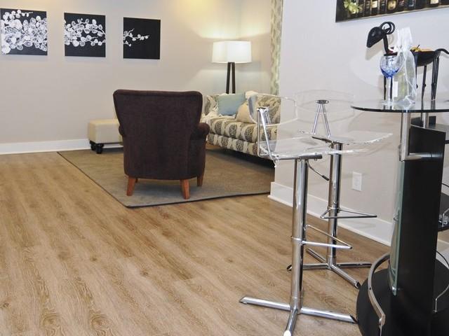 Evoke luxury vinyl plank tile and laminate floors for Casa moderna black walnut luxury vinyl plank