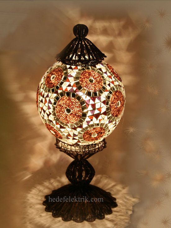 Turkish Style - Mosaic Lighting - Code: HD-97206_41