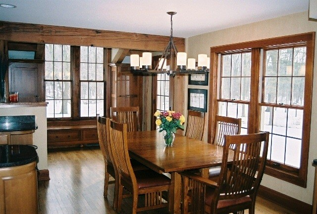 Farmhouse Remodel/Addition traditional-dining-room