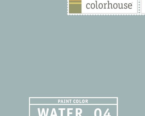 Colorhouse WATER .04 - Colorhouse WATER .04: This hue reminds us of an elegant period room. A great bedroom color paired with rich antique furniture and lots of light.
