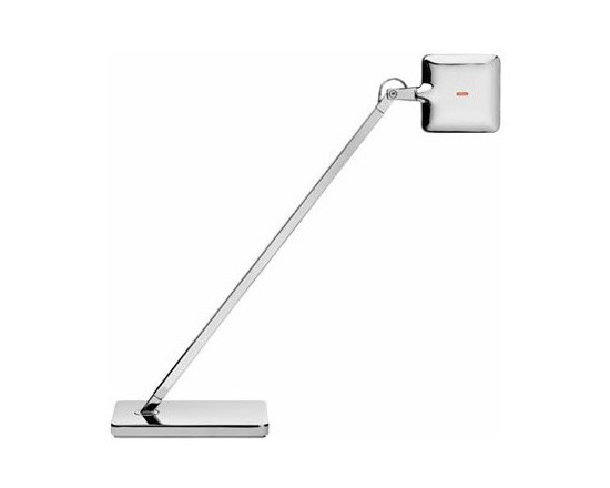 Kelvin Mini Led Floor Lamp By Flos Lighting - Mini Kelvin LED table lamp for Flos is pushing the technology.