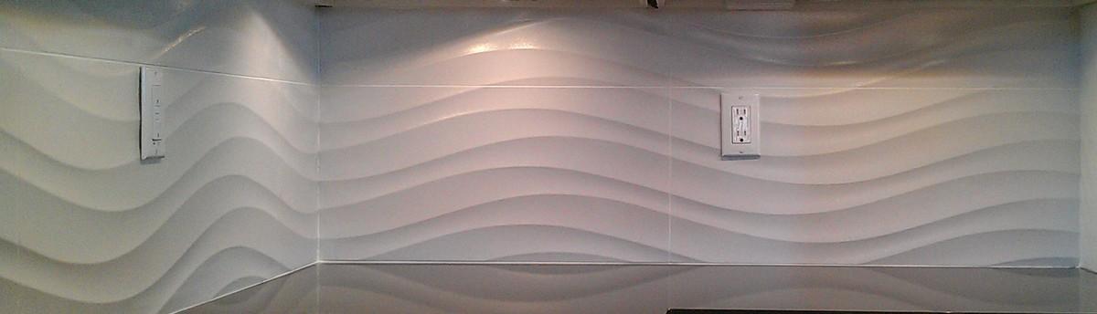 KITCHEN Back Splash Ceramic 2 X 8 Subway Tile
