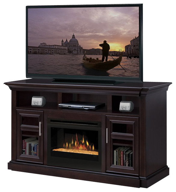 dimplex bailey electric fireplace entertainment center in