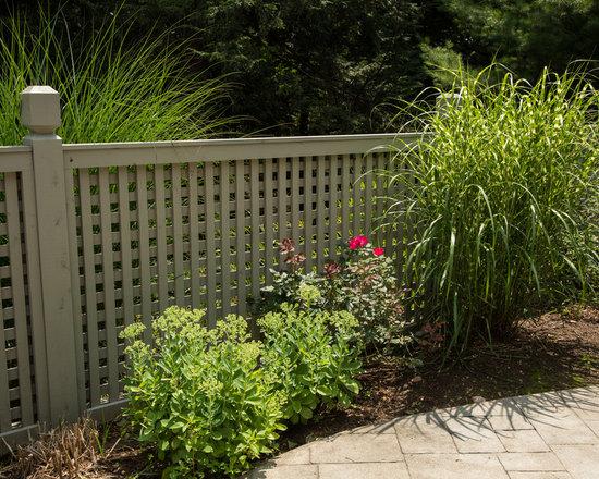 Cedar Picket Fences -