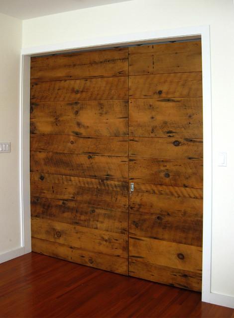Sliding barn door modern interior doors philadelphia by bench