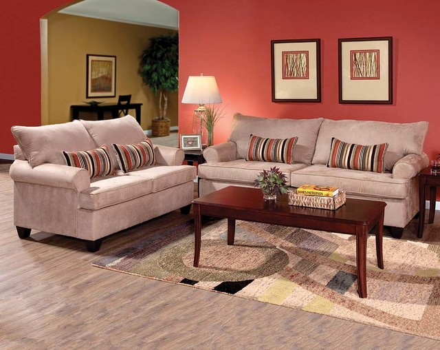 Sienna Mocha Sofa Loveseat Living Room Columbus By American Freig