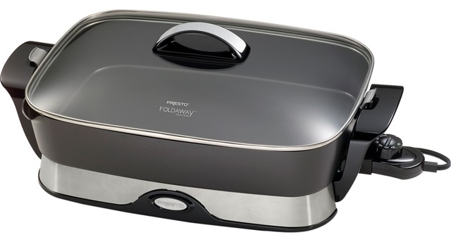 Electric Skillet Foldaway contemporary-electric-grills-and-skillets