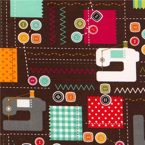 sewing machine print fabric