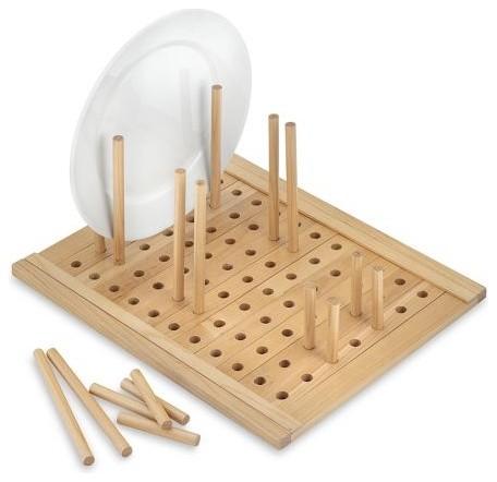 Maple Peg Drawer Organizer - Modern - Kitchen Drawer Organizers - by Williams-Sonoma