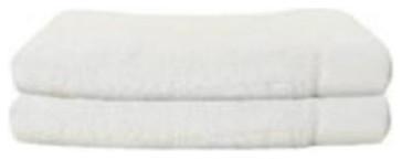Bamboo Hand Towel in White 2-PK hardwood-flooring