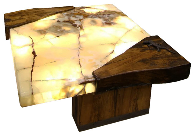 lit onyx coffee table contemporary coffee tables cleveland by architectural justice. Black Bedroom Furniture Sets. Home Design Ideas