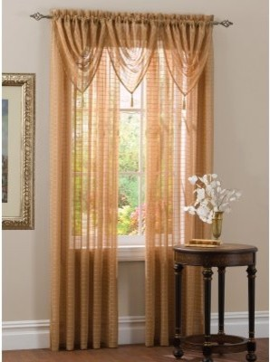 Achim Lexington Waterfall Valance modern-curtains