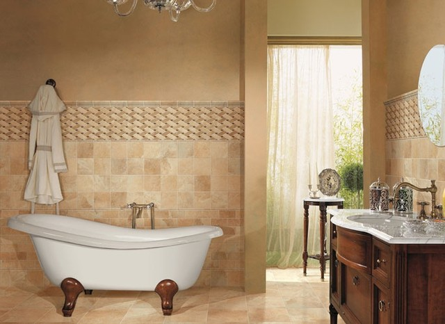 PanAmericanCeramics Saturnia wall tile contemporary-tile