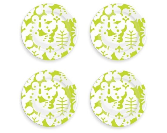 Seasons Side Plates, Set of Four -