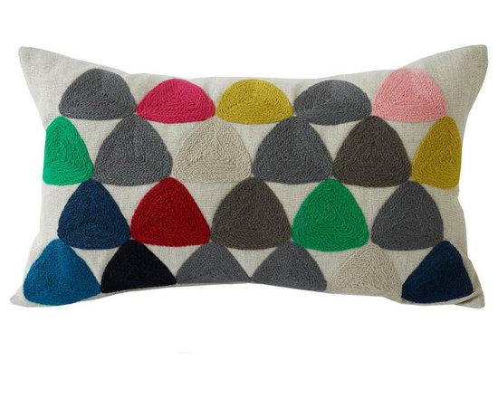Charlene Mullen - plectrum 2 pillow -