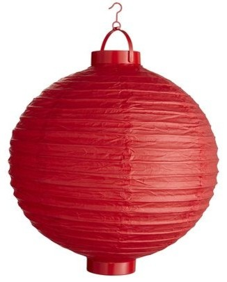 Red Paper Lantern traditional-holiday-decorations