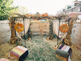 home design How One Couple Got a Perfectly Intimate Backyard Wedding (16 photos)
