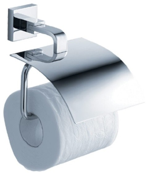 Kraus kea 14426ch aura bathroom toilet paper holder modern toilet paper holders new york - Bathroom accessories toilet paper holders ...