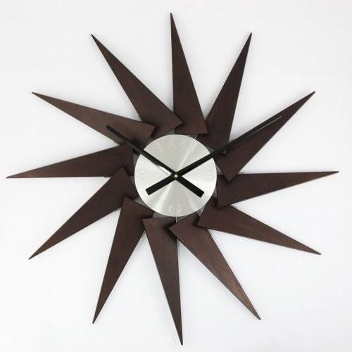 George Nelson Pinewood 36-in. Wall Clock - Modern - Clocks - by Hayneedle