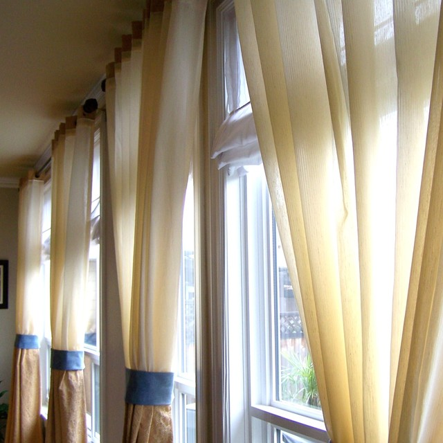 Draperies for the home curtains