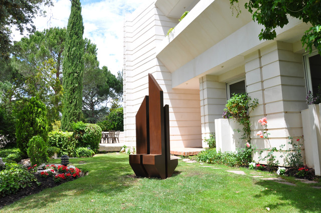 gonzalo de salas sculptures and wall sculptures moderne jardin other metro par gonzalo. Black Bedroom Furniture Sets. Home Design Ideas