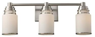 ELK Lighting Bryant 3-Light Bathroom Vanity Light 11266/3 - 23W in. modern-bathroom-vanity-lighting