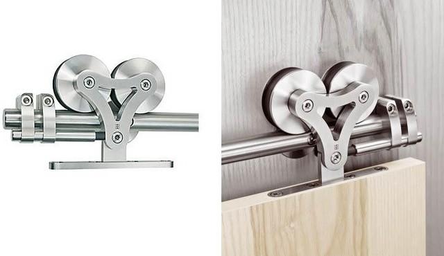 European Elegant Barn Style Sliding Barn Door Hardware for ...