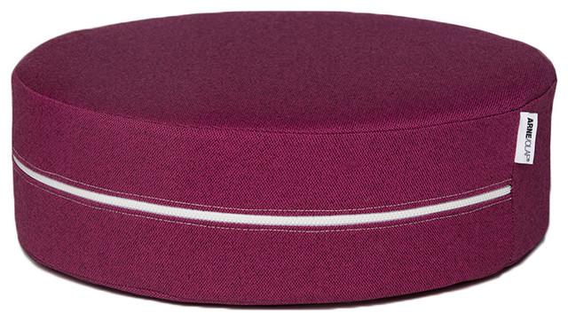 Jaxx Arne & Olaf Augustina Purple Stackable Floor Cushion contemporary-decorative-pillows