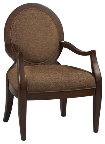 Linon Preston Occasional Arm Chair traditional-living-room-chairs