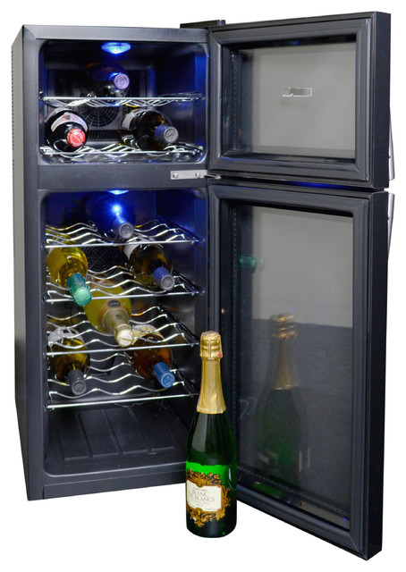 ... AW-210ED 21 Bottle Dual Zone Wine Cooler beer-and-wine-refrigerators