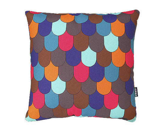 Tuiles Brown - Funda exterior: 100% polyester