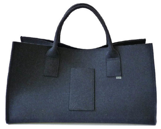 Merino wool felt big bag - Made in Germany, Daff has produced a felt collection of modern trendy designs made of 100% pure Merino wool.