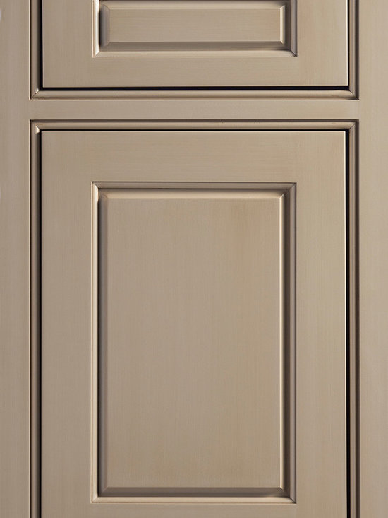 """Dura Supreme Cabinetry - Dura Supreme Cabinetry Chadwick Excel Cabinet Door Style - Dura Supreme Cabinetry """"Chadwick Excel"""" inset cabinet door style with non-beaded frame in Cherry shown with Dura Supreme's """"Henna"""" finish."""