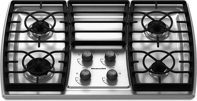 Captivating Contemporary Cooktops By Loweu0027s. KitchenAid 30 Inch ...