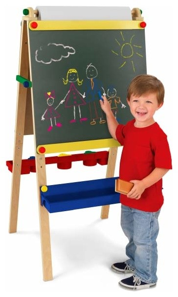 KidKraft Art Easel and Chalkboard - Traditional - Kids Toys And Games - by Best Price Toys