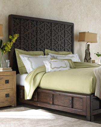 """Marrakesh"" Bedroom Furniture traditional-beds"