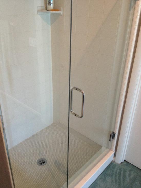 Shower Door Enclosures - Shower Door Installed by SlideRight Doors