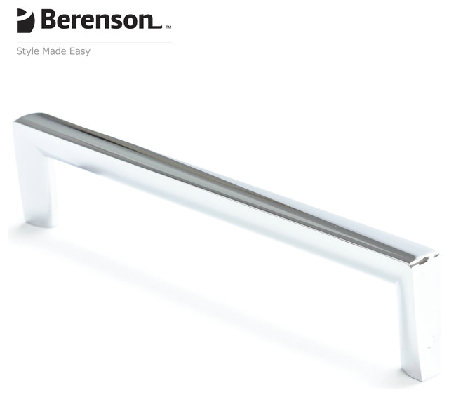 Polished Chrome Cabinet Pull by Berenson modern pulls