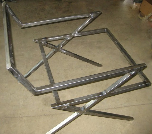 Steel furniture fabrication modern san francisco by napavalley