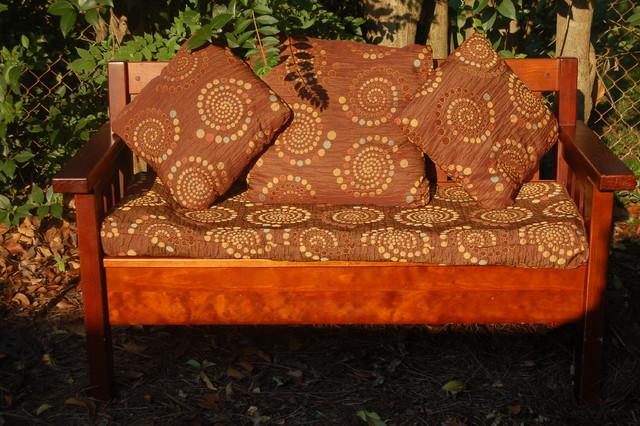 Bench Cushion and Pillows decorative-pillows