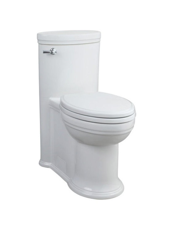 Archive Elongated One-Piece Toilet - 10 year warranty on entire toilet
