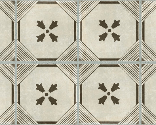 COTTO DYNASTY DECO 12X24 - The Palazzo collection provides a multi-faceted dynamic of old world charm and modern beauty with three beautiful colors and four unique decorative designs. Trim options and mosaics also available.