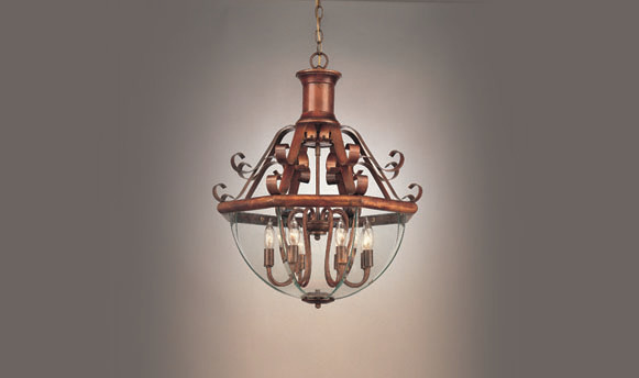 Beveled Collection chandeliers