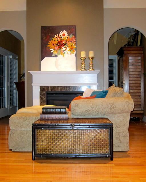 Love Seat By Fireplace loveseats